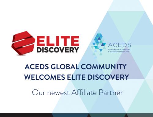 ACEDS Affiliate Partnership